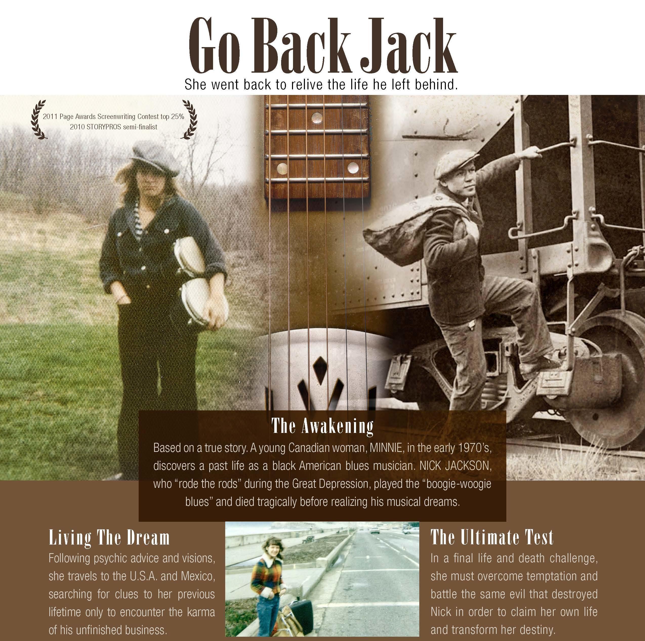 Go Back Jack Movie Script - Maureen Kellar